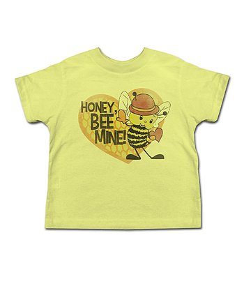 Banana 'Honey, Bee Mine!' Tee - Toddler & Kids