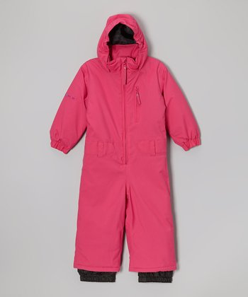 Bubblegum Hooded Snow Suit - Toddler