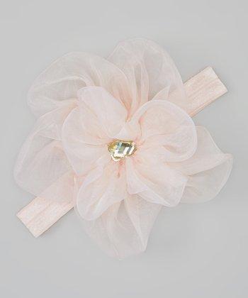 Truffles Ruffles Blush Flower Lisbeth Headband