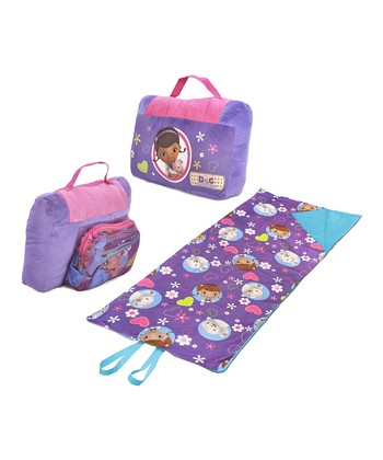 Doc McStuffins Sleeping Bag & Pillow