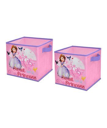 Sofia the First Storage Cube - Set of Two