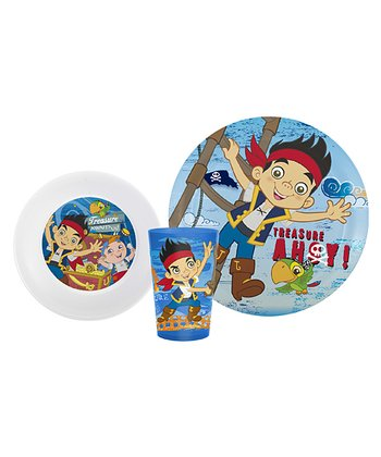Jake & the Never Land Pirates Three-Piece Mealtime Set
