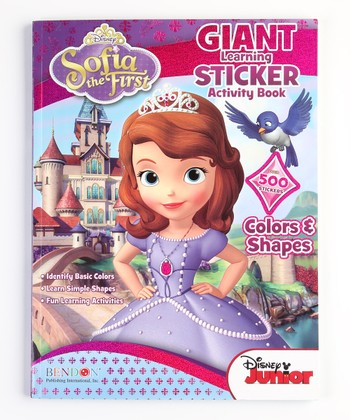 Sofia the First Giant Sticker Activity Book