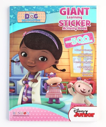 Doc McStuffins Giant Sticker Activity Book