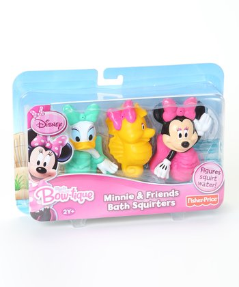 Minnie Mouse Bath Squirters