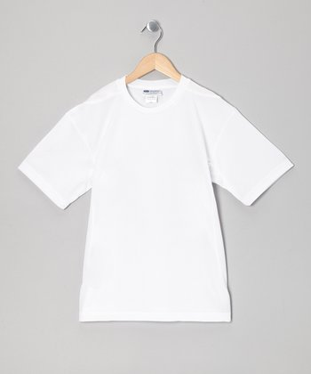 White Tennis Top - Boys