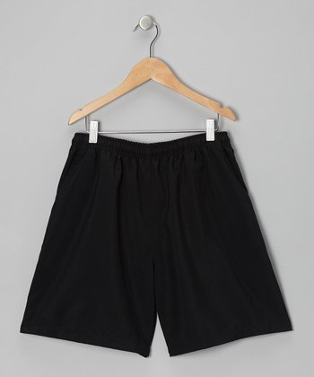 Black Tennis Shorts - Boys