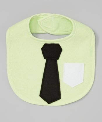 Light Green Business Time Bib