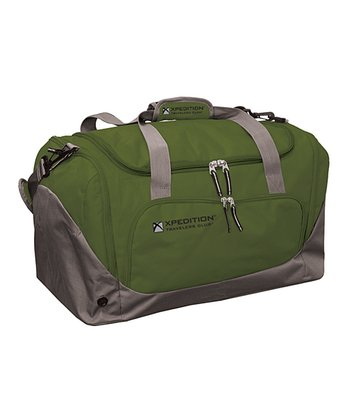 Green & Gray 21'' Duffel