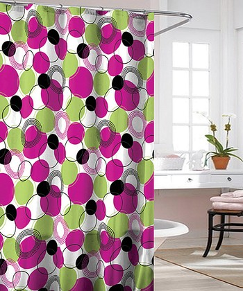 Fuchsia Liberty Shower Curtain