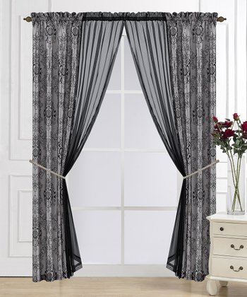 Gray Westchester Six-Piece Window Set