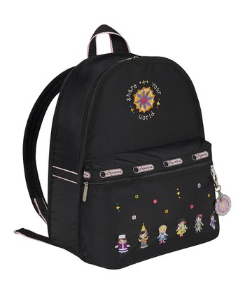Black World of Laughter Basic Backpack & Charm