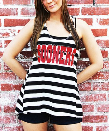 Oklahoma Sooners Open-Back Tank - Women