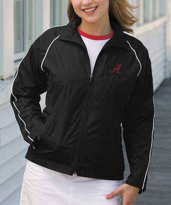 Black Alabama Vansport Track Jacket