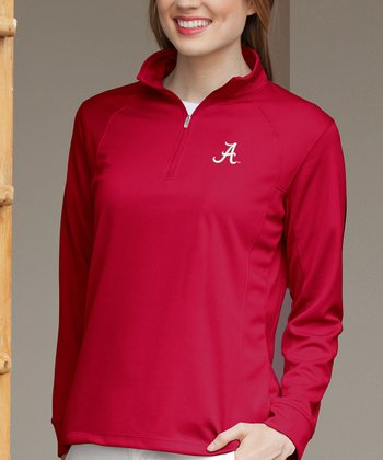Red Alabama Vansport Tech Pullover
