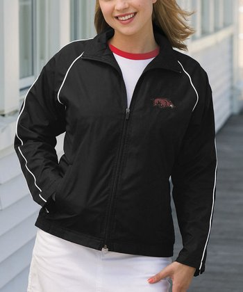 Black Arkansas Vansport Track Jacket