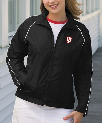 Black Indiana Vansport Track Jacket - Women