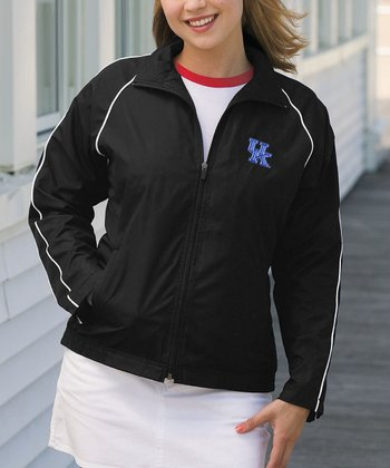 Black Kentucky Vansport Track Jacket