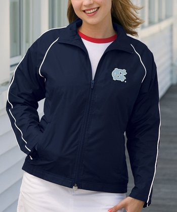 Navy North Carolina Vansport Track Jacket