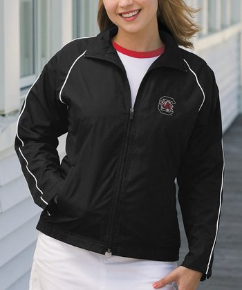 Black USC Vansport Track Jacket