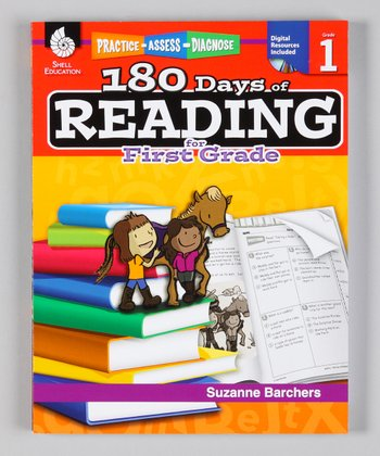 180 Days of Reading: Grade 1 Workbook & CD