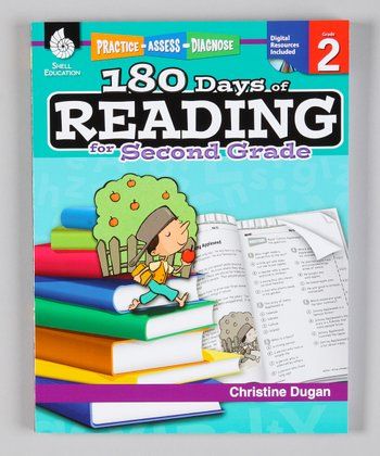 180 Days of Reading: Grade 2 Paperback & CD-ROM
