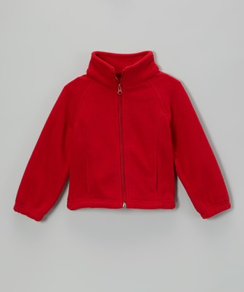 Red Denali Jacket - Girls