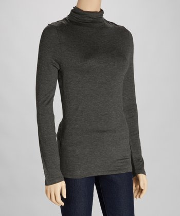 Charcoal Turtleneck
