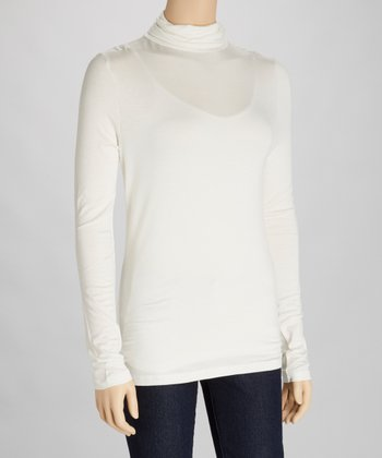 Ivory Turtleneck