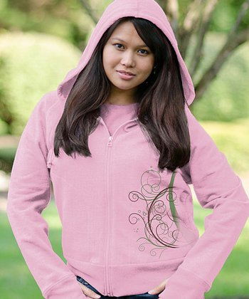 Cotton Candy Abound Zip-Up Hoodie