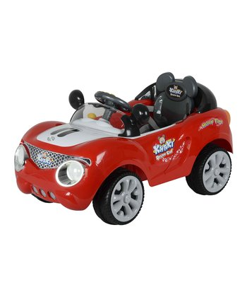 Red Buggy Ride-On