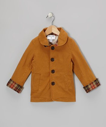 Burnt Orange Dapper Jacket - Toddler & Girls
