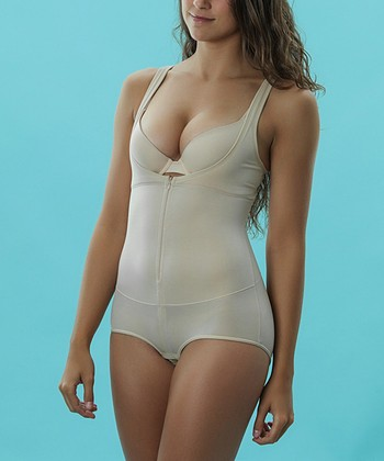Nude Underbust Bodysuit - Women & Plus