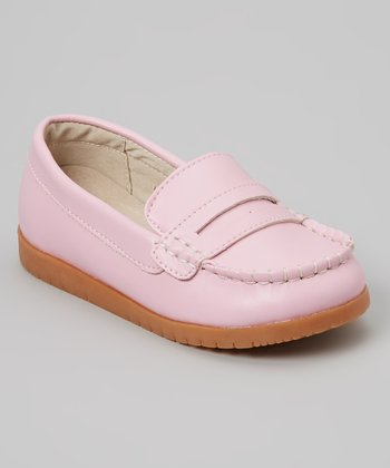 Light Pink Loafer - Girls
