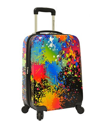 21'' Paint Splatter Hardside Carry-On