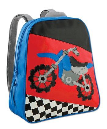 Red & Blue Go-Go Motocross Backpack