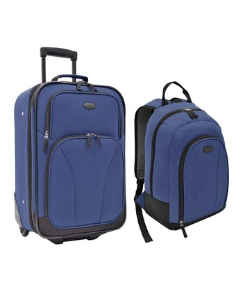 Blue Salerno Luggage Set