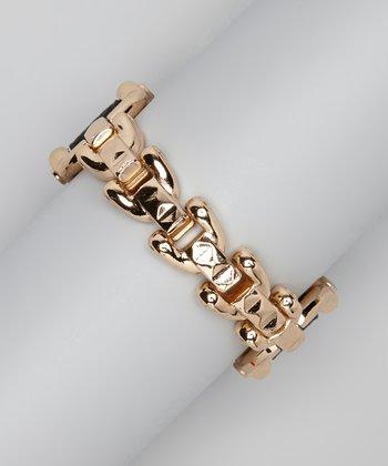 Black & Gold Chain Bracelet