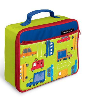 Yellow Traffic Jam Classic Lunch Box