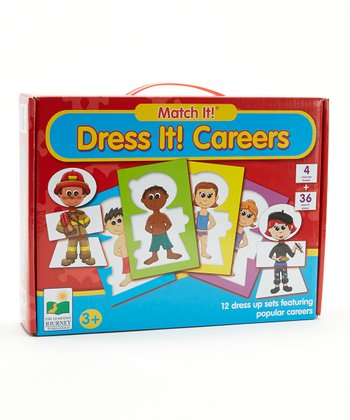 Dress It Careers Match It! Puzzle Card Set