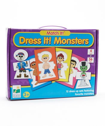 Dress It Monsters Match It! Puzzle Card Set