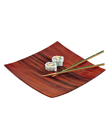 Acacia Sushi Plate - Set of Four