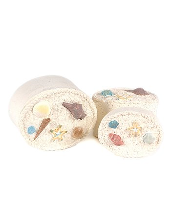 Seashells Decorative Box Set