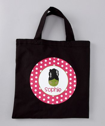 Pink Bride of Frankie Personalized Tote