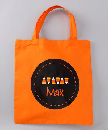 Candy Corn Dash Personalized Tote
