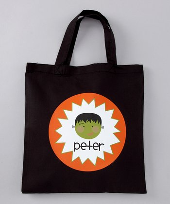 Orange Frankie Personalized Tote