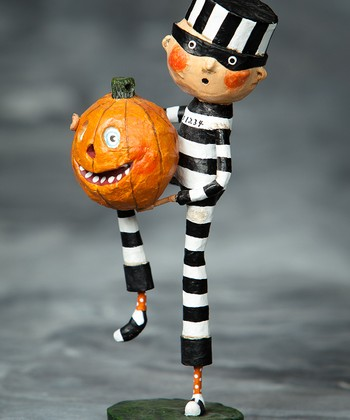 Pumpkin Thief Figurine
