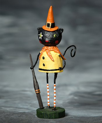 Coraline Cat Figurine