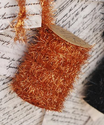 Orange Tinsel Spool