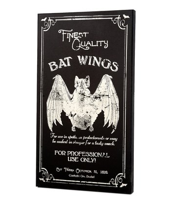 Bat Wings Large Wall Art